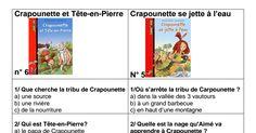 Rallye lecture avec questions et adaptation pour des ateliers sur la préhistoire
