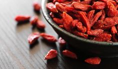 "Goji berries, also known as wolfberries, are tiny edible members of the berry family. I am sure a lot of you have this question of ""what is goji berries"" in your mind? Superfoods, Raw Food Recipes, Healthy Recipes, Food Tips, Goji, Natural Remedies For Anxiety, Nutribullet Recipes, Nutrient Rich Foods, Healthy Snacks"