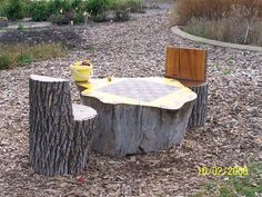 kids garden seats