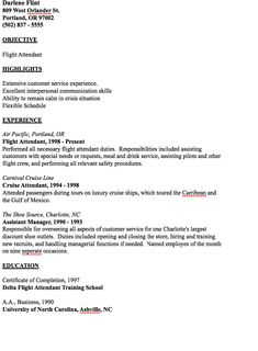In Post This Time We Will Give A Example About Sample Of Director Of Example  Of Flight Attendant Resume That Will Give You Ideas And Provide A Reference  For