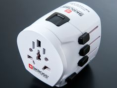 Skross World Travel Adapter is the safest and most compact 3-pole adapter for an absolute uncomplicated connection of all 2- and 3-pole devices worldwide.