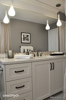 Home Gray Bathroom On Pinterest Gray Subway Tiles Gray