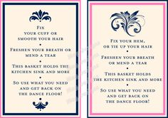 CUSTOMIZABLE Wedding Reception Bathroom Guest by iDoArtsyWeddings
