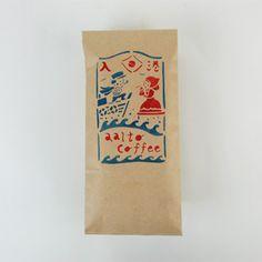 aalto coffee X 関美穂子 ブラジル100g  紅X藍的紙箱感