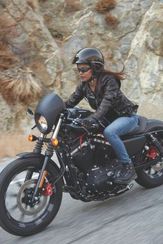 The pioneer of raw, blacked-out, stripped down custom style. | 2017 Harley-Davidson Iron 883