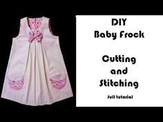 Baby Frock Cutting and Stitching Ready in 10 Minutes/DIY/Tutorial Video - YouTube
