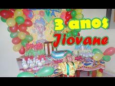 3 anos de Jiovane, fantasia de Patatá [VLOG] por Monique July