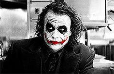 """Joker. """"He says I can stay. Jerk."""""""