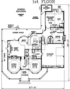 victorian house layout floor plan | Victorian House Plan - #ALP-085Y - Chatham Design Group House Plans