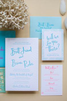 gallery — Swell Press Paper Co. Papers Co, Wedding Invitation Design, Stationery Design, Love And Marriage, Our Love, Place Card Holders, Prints, Wedding Invitation, Stationary Design
