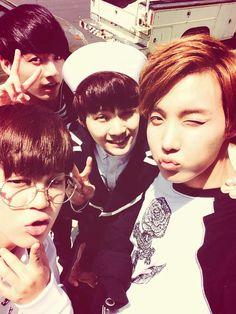 Jimin, J-Hope, Suga + Jungkook twitter update.