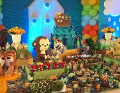 A lovely Noah's Ark Party