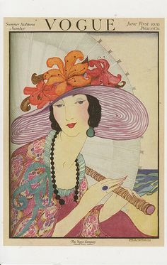 Vogue June1, 1919, Helen Dryden
