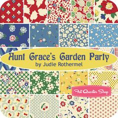 Aunt Grace's Garden Party by Judie Rothermel