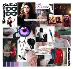 """""""River Harper Aesthetic"""" by natasha-maree13 ❤ liked on Polyvore featuring art"""