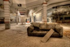 These Photos From Abandoned Malls are Hauntingly Beautiful #abandoned #photography trendhunter.com