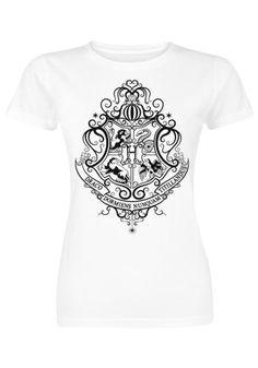 Hogwarts UV Print - T-shirt van Harry Potter
