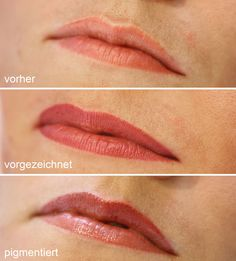 Bilder aus unserem Schulungsinstitut: Conture® Make-up für sinnliche Lippen Liner, Make Up, Makeup, Bronzer Makeup