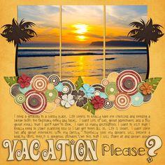 Vacation Please - Scrapbook.com