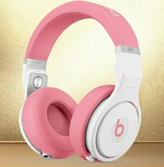 Beats Pro Over-Ear Headphones, Pink Pink Headphones, Bluetooth Headphones, Beats Headphones, Over Ear Headphones, Cheap Beats, Beats Audio, Accessoires Iphone, Beats By Dre, Accesorios Casual