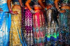 Indian wedding dresses -- why not for dance as well?