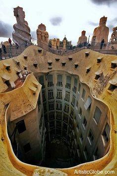 Casa Mila. Barcelona