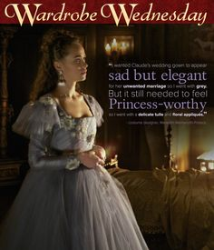 Claude's wedding will be a fashionable but sorrowful event on Friday's new Reign at 8/7c. #WardrobeWednesday