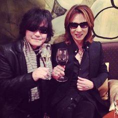 Toshi and Yoshiki. X Japan