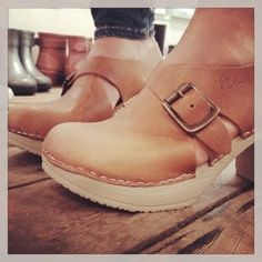 Swedish clogs from calou fashion Summer