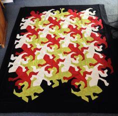 Escher Reptiles via Craftsy