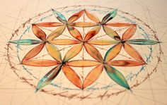 Flower of life - study 1 by *Carnegriff on deviantART -> Great tools for light-workers.. Flower of Life T-Shirts, V-necks, Sweaters, Hoodies & More ONLY 13$ EACH! LIMITED TIME CLICK ON THE PIC