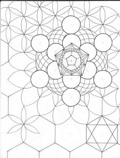 120 best sacred geometry images in 2017 Sacred Geometry Patterns, Sacred Geometry Art, Islamic Patterns, Geometry Tattoo, Arte Yin Yang, Persian Pattern, Mandalas Drawing, Flower Of Life, Islamic Art