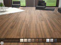 Glossy Modern Wood Floor - The Sims 4 Catalog