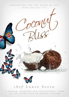 Book cover design   Coconut Bliss by chef Lance Seeto