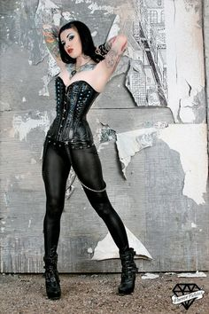 Fatale IX - Designer Corsets - Sweet Carousel Corsetry -love