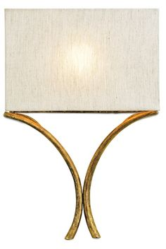 Modern Gold Shaded Wall Sconce