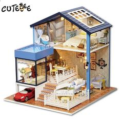 Model Building Considerate Diy 3d Miniature Assemble Box Theater Creative Diary Building Dollhouse Kits With Funitures For Child Festival Handmade Gifts 2019 Official