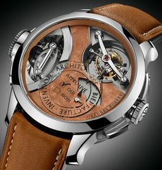 """Greubel Forsey Art Piece 2, Edition 1 Watch - by Santiago Tejedor Get a closer look at: aBlogtoWatch.com """"Greubel Forsey typically launches its novelties during the SIHH watch salon in Geneva, but they chose the Baselworld stage to present the latest addition to their Art Piece collection. The new Greubel Forsey Art Piece 2, Edition 1 is an introspective, 'insiders-only' watch that is something of a coded celebration of the two men behind the brand and their gravity-defying..."""""""