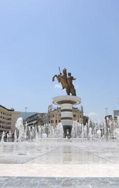 Macedonia Square - Skopje, Macedonia