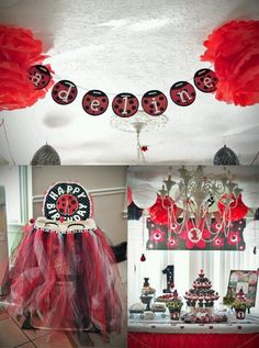 Adohrable Creations - Lady bug party