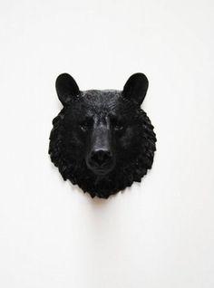 Mini Resin Bear Head