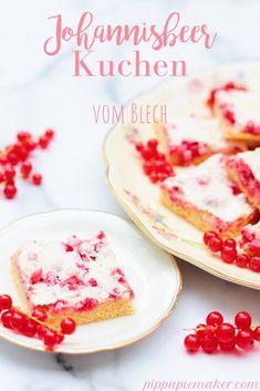 Johannisbeerkuchen vom Blech - Pippa Pie-Maker