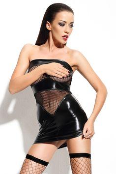 schwarzes Minikleid Dagmar von Demoniq