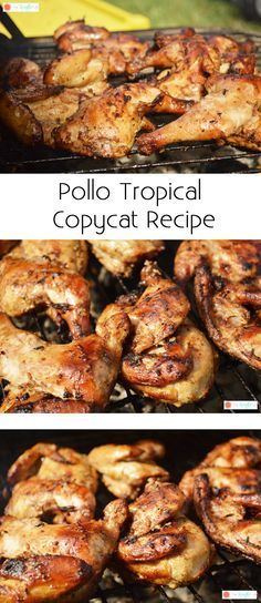 Pollo Tropical Chicken Copycat Recipe- The Kreative Life The latest recipes and sweet suggestions. Grilling Recipes, Cooking Recipes, Healthy Recipes, Keto Recipes, Grilling Ideas, Oven Recipes, Healthy Eats, Easy Recipes, Local Fast Food