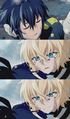Mika save Yuu <3