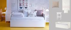 Ikea-   BYGLAND    Daybed frame, white                        $449.00      http://www.ikea.com/us/en/catalog/categories/departments/bedroom/choice/S1R2C2/
