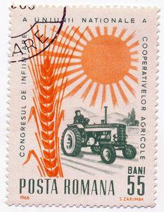 Green Tractor | Romania 1966