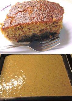 Greek Sweets, Greek Desserts, Greek Recipes, Desert Recipes, Baking Recipes, Cake Recipes, Semolina Cake, Pastry Cake, Vegan Cake