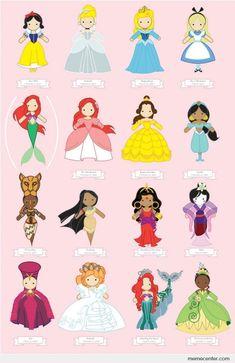 de bellas y hermosas princesas