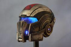 Mass Effect 3: N7 Breather Helmet by JarmanProps.deviantart.com on @deviantART